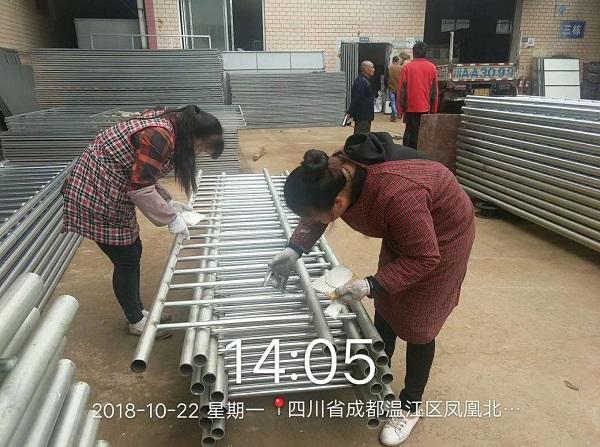 四川交通护栏团队展示