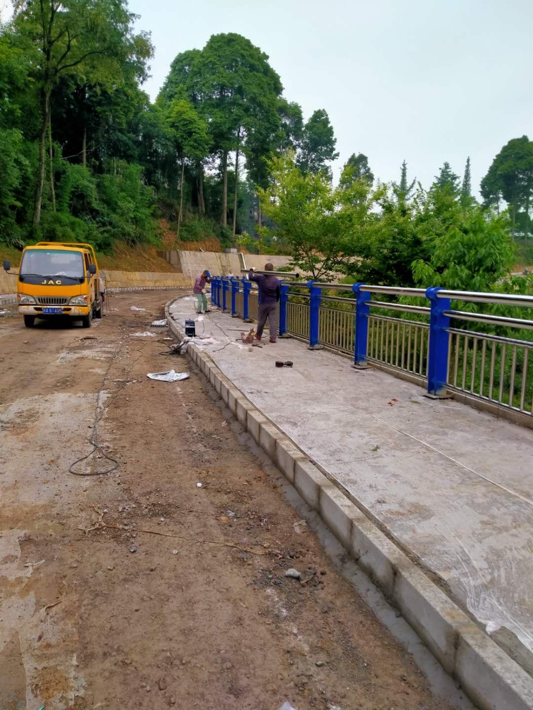 四川雅安桥梁栏杆