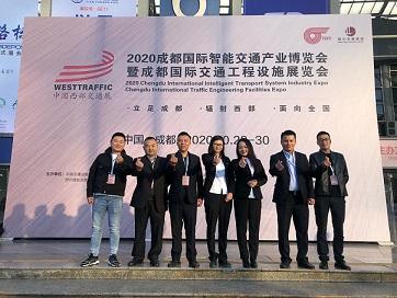 中国西部交通展-金恒达团队风采