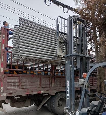 中央隔离护栏灰色三代护栏发货啦