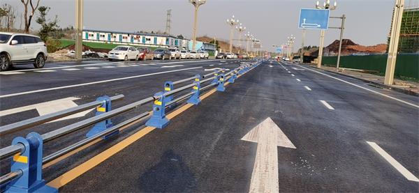 1.13日人寿安装市政护栏