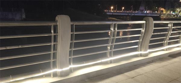 灯光景观护栏效果图展示