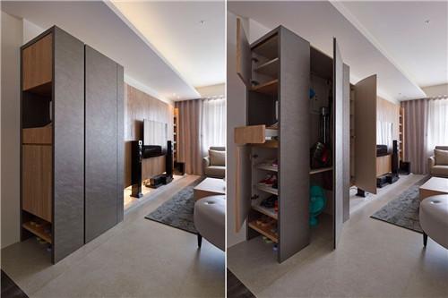 日式風格平層室內裝修