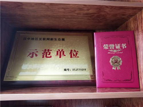 漢中家裝設計示范單位的稱號