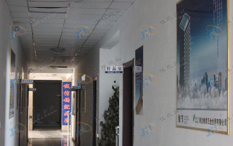 佳航公司办公走廊