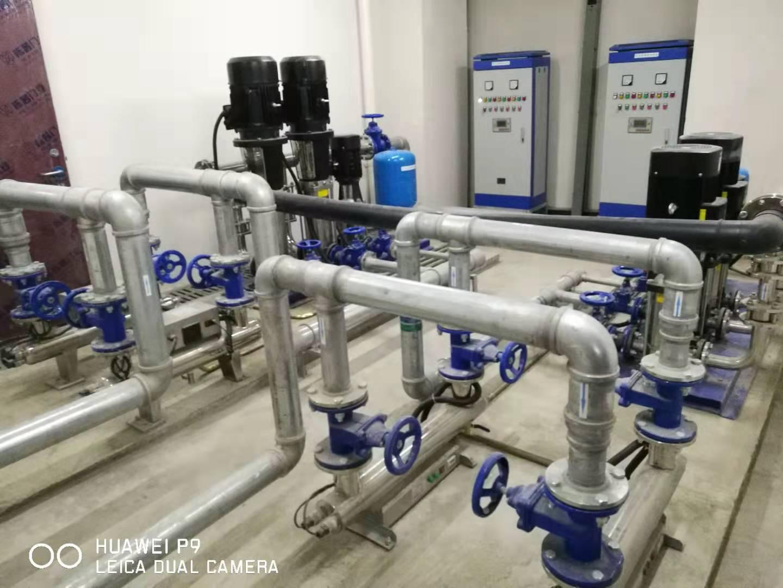成都温江科技园供水设备