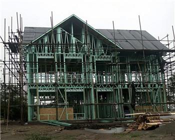 农村轻钢别墅合作案例