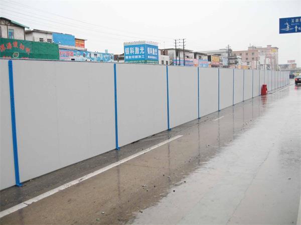 新型环保美观工地围挡 安装便利 彩钢围挡厂家直销