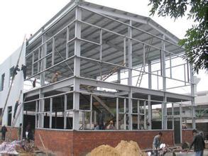 宜昌义全轻钢结构厂房 可拆卸安装便捷