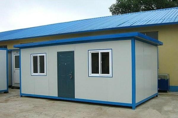 长阳某养殖场搭建的活动板房案例
