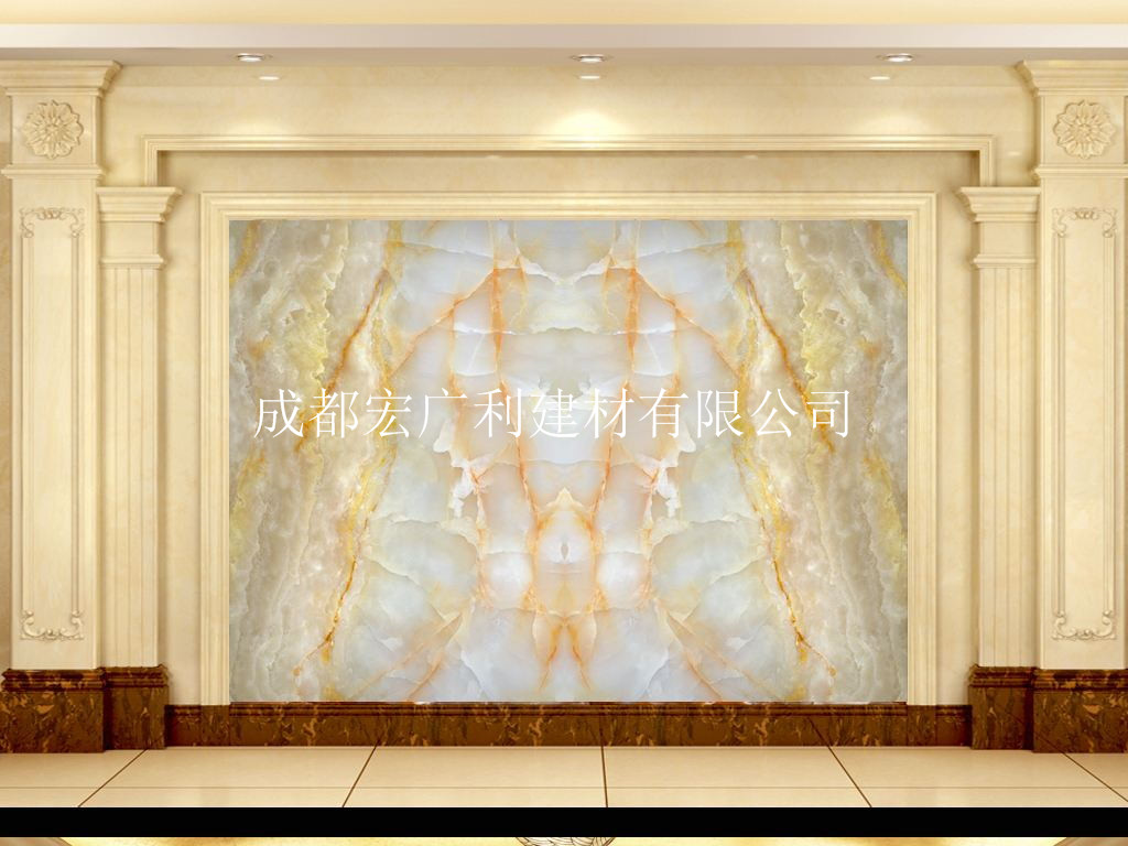 四川背景墙材料