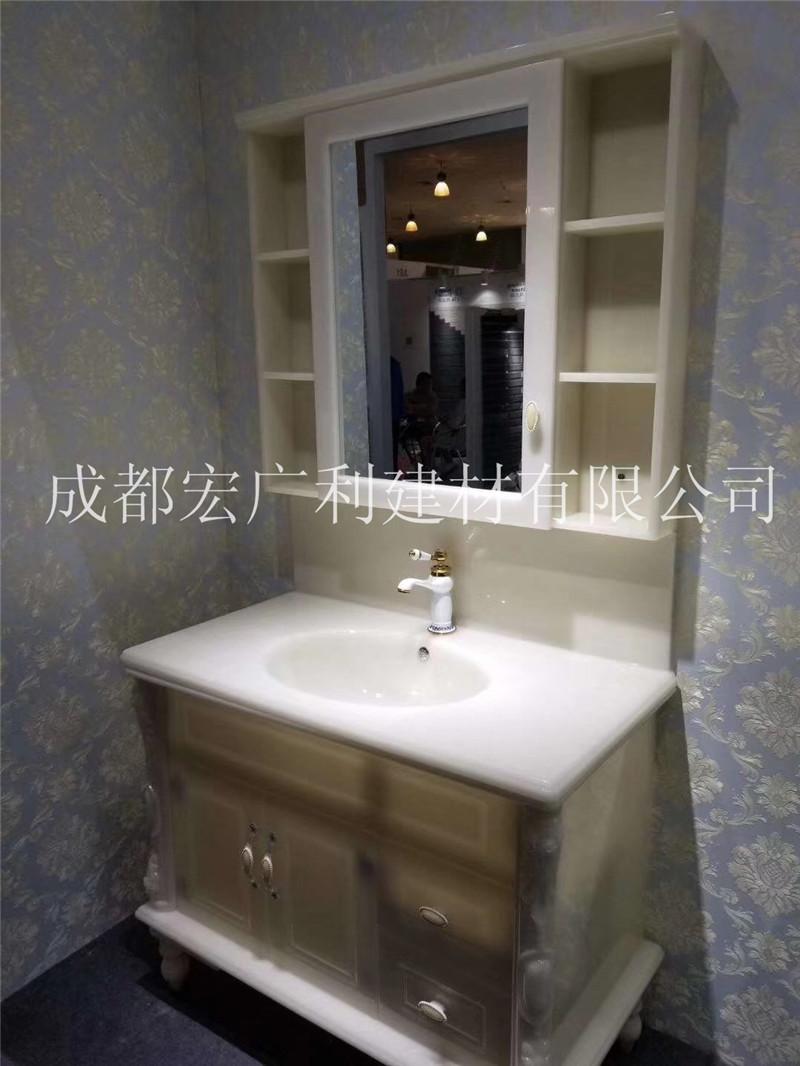 四川玉石卫浴洗手台