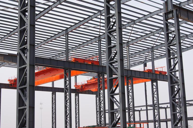 江苏翔盟精密制造公司钢结构项目