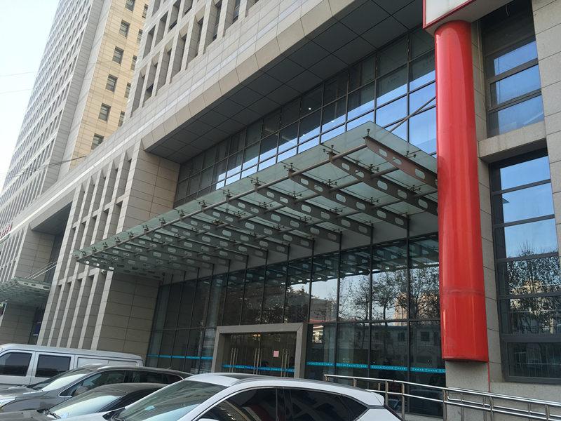西安市未央区政务大厅雨棚项目