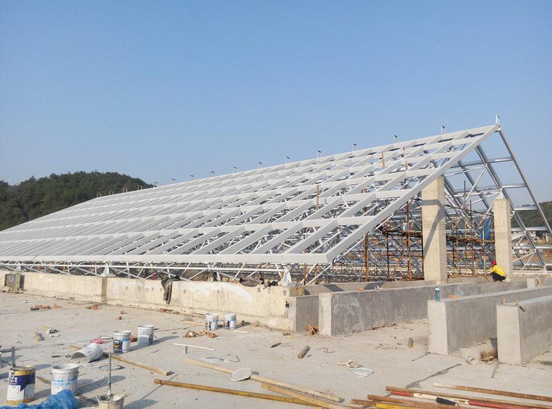 陕西钢网架结构工程