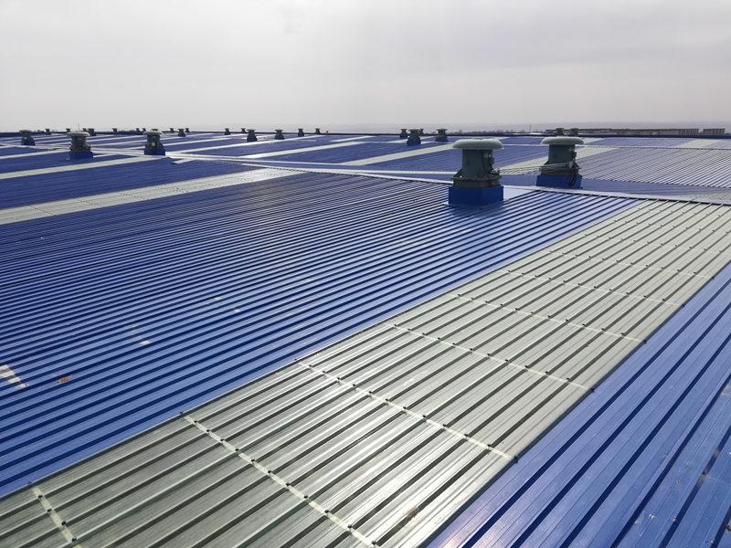 陕西彩钢金属屋面施工
