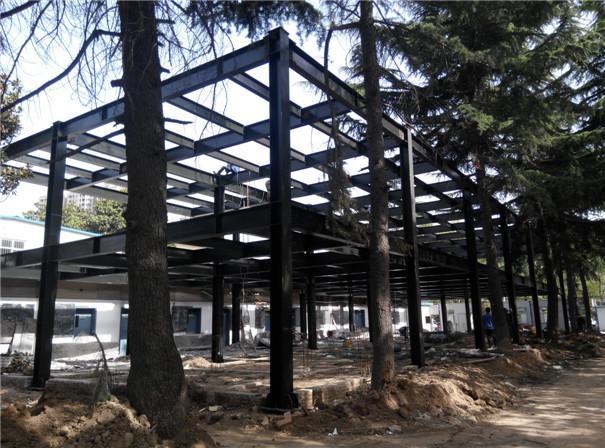 陕西钢结构房屋外墙可以用些什么材料?
