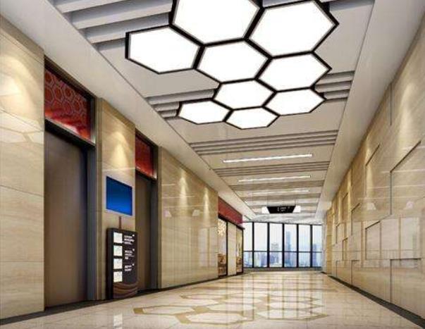 现代简约写字楼电梯装修