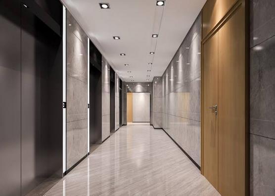为咸阳客户提供电梯装潢服务