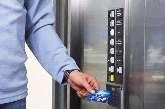 为某小区物业公司提供电梯刷卡安装服务