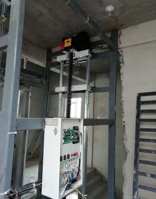 别墅电梯安装施工