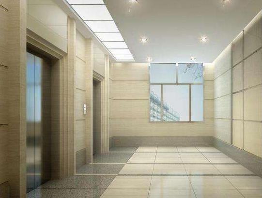 中式写字楼电梯装修