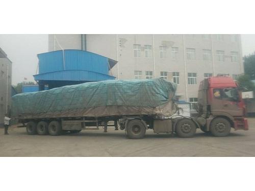 洛阳做饲料生产的贾总走货34吨谷朊粉