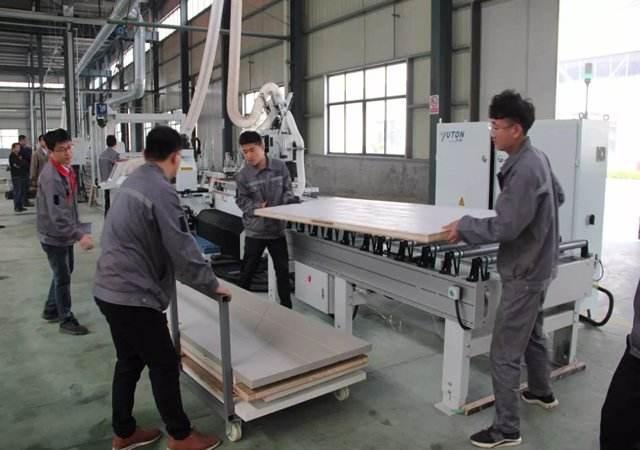 郑州全屋定制家居生产线