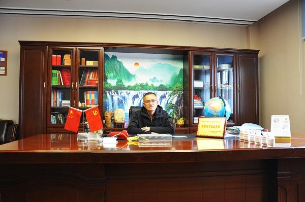 四川省大发888体育中藥材 董事長龐剛華