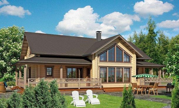 成都木屋别墅建造