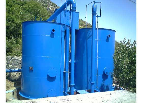 四川水處理設備-重力式無閥濾池(圓形)