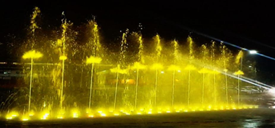 郫都区龙城国际喷泉