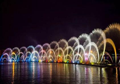 四川漂浮式喷泉施工
