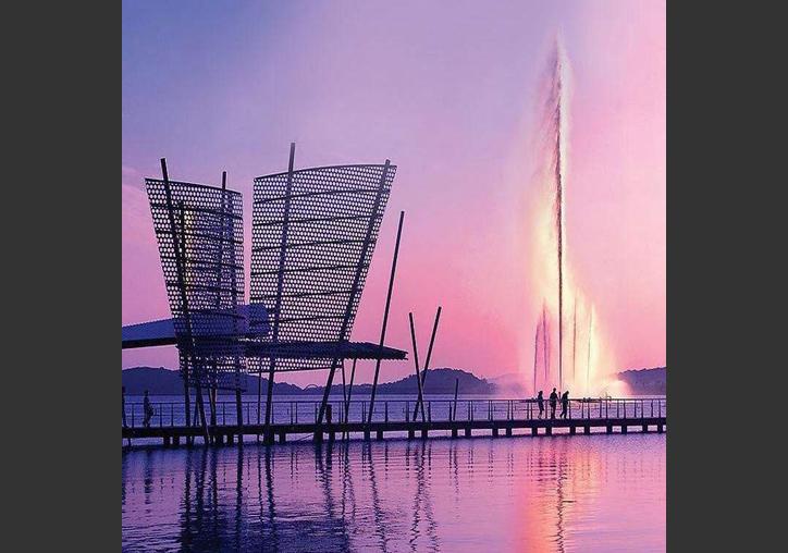 四川超高喷泉安装