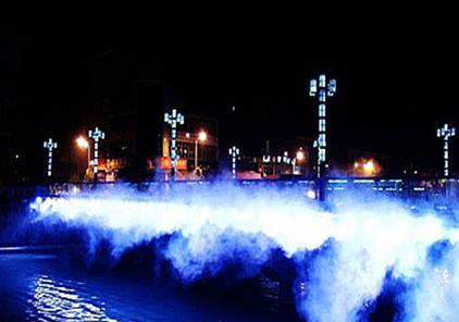 四川雾喷造景工程