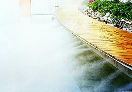 四川雾喷造景施工