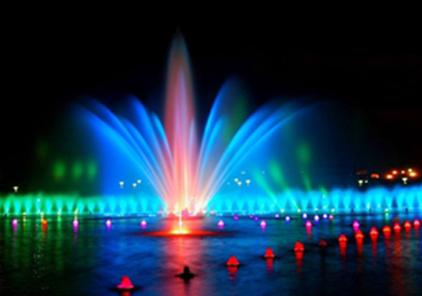 四川漂浮式喷泉