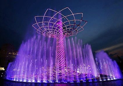 四川喷泉雕塑工程