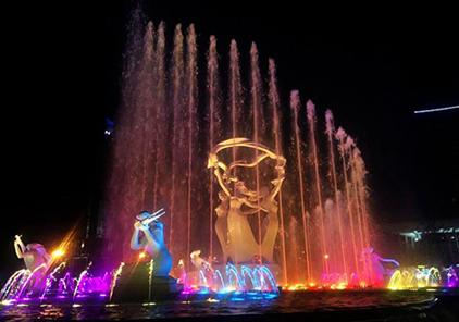 四川喷泉雕塑公司