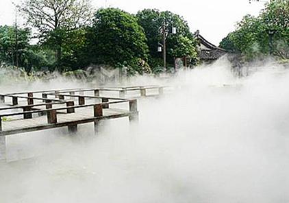 四川雾喷造景安装