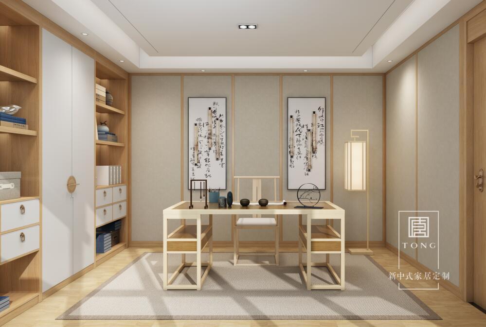 成都書房家具定制設計