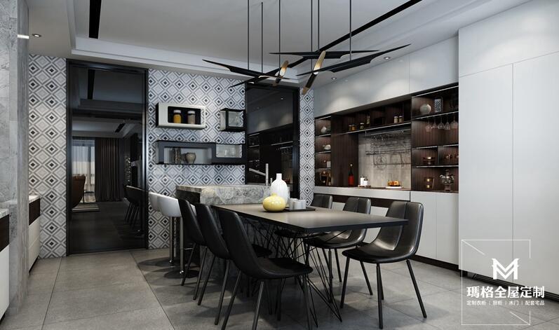 廚房家具定制擺放有何講究?快來瞧一瞧