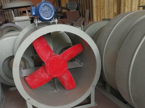 在安装四川防腐轴流风机的时候有什么需要注意的呢?