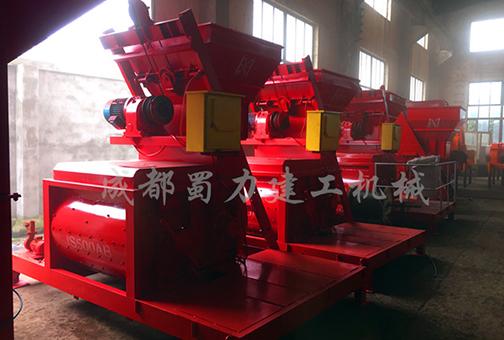 成都混凝土搅拌机生产厂家厂区展示