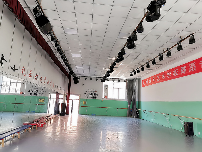 兰州北乐艺术学校舞蹈教室