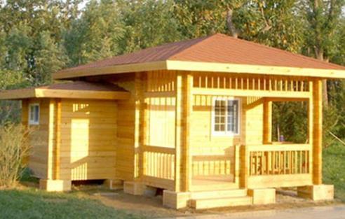 甘肃兰州防腐木木屋