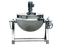 QJ系列可倾式球形夹层锅