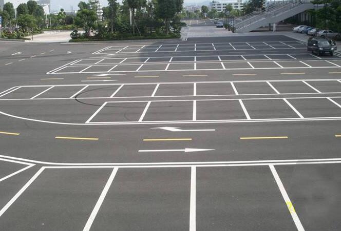 停车位划线图