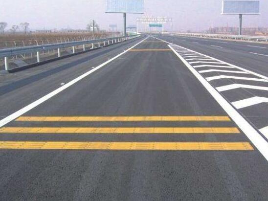 襄阳新316国道道路标线案例