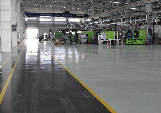 襄阳东风厂房工业地坪案例展示